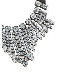Emanuele Bicocchi Metallic Crystal Necklace