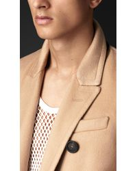 Burberry - Brown Double Cashmere Chesterfield - Lyst