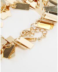 ASOS - Metallic Metal Shake Bracelet - Lyst