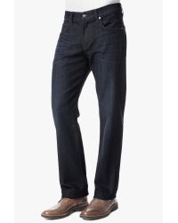 7 For All Mankind - Blue Movember: Carsen Easy Straight In Movember 14 Wash for Men - Lyst