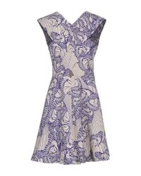 Paul & Joe - Blue Short Dress - Lyst