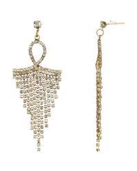 John Lewis | Metallic Chandelier Earrings | Lyst