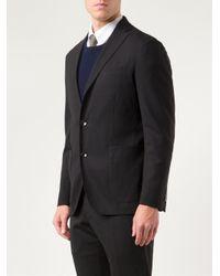 Boglioli Black Dover Suit for men