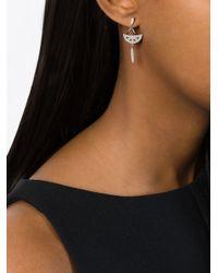 V Jewellery - Metallic Sanea Earrings - Lyst