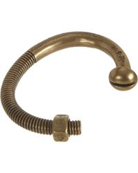 Giles & Brother - Brown Brass Nut & Bolt Cuff for Men - Lyst