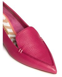 Nicholas Kirkwood - Pink 'bottalato' Metallic Heel Leather Loafers - Lyst