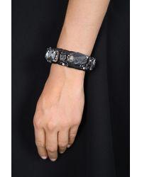 Dorothee Schumacher - Black Crystal Attitude Crystal Bracelet - Lyst