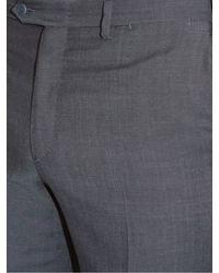 Brioni - Blue Megeve Slim-fit Wool Trousers for Men - Lyst