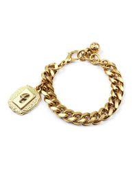 Lulu Frost | Metallic Victorian Plaza Charm Number Bracelet #4 | Lyst
