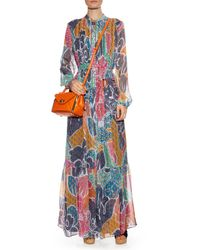 Diane von Furstenberg - Orange Mini Secret Agent Cross-Body Bag - Lyst