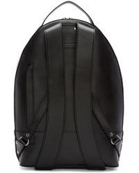 Alexander Wang Black Leather Mason Backpack for men
