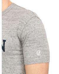 Todd Snyder Gray Ny Champion 1919 Cotton T-Shirt