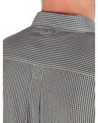 Racing Green - Gray Cologne Short Sleeve Shirt for Men - Lyst