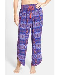 Bollydoll - Blue 'night Awakens' Pajama Bottoms - Lyst
