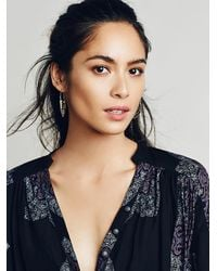 Free People | Metallic Womens Tribe Metals Hoops | Lyst