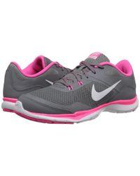 Nike | Pink Flex Trainer 5 | Lyst