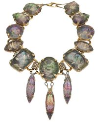 Erickson Beamon | Multicolor Large Pendant Necklace | Lyst
