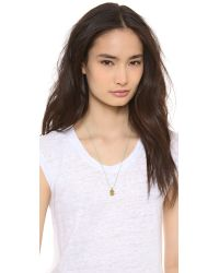 Marc By Marc Jacobs - Green Stamped Friendship Necklace Fluoro Coral - Lyst