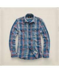 RRL Blue Matlock Workshirt for men