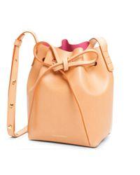 Mansur Gavriel | Pink Mini Mini Bucket Bag | Lyst