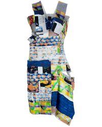 Bernhard Willhelm Blue Printed Dress