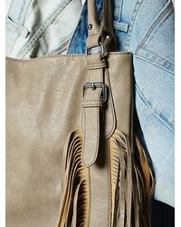 Free People - Natural Womens Vegan Crazyheart Tote - Lyst