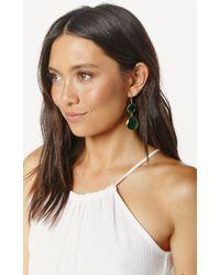 Soixante Neuf | Metallic Double Drop Earrings | Lyst