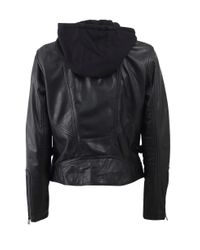 Lamarque | Black Two In One Leather Jacket | Lyst