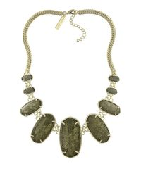 Kendra Scott | Brown Ginger Bib Necklace | Lyst