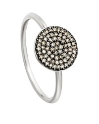 Astley Clarke | Metallic Small Icon Ring | Lyst
