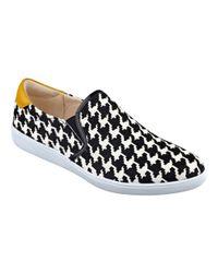 Nine West | Black Lildevil Slip-on Sneakers | Lyst