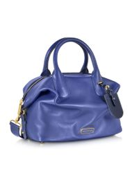 Marc By Marc Jacobs | Blue Legend Large Leather Handbag | Lyst