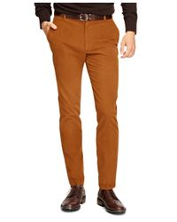 Brooks Brothers | Brown Milano Fit 14-wale Corduroys for Men | Lyst