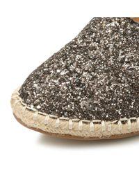 Steve Madden | Metallic Rubby Sm Glitter Espadrilles | Lyst