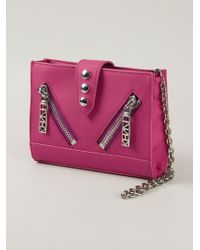 KENZO | Pink 'Gommato' Chain Wallet | Lyst