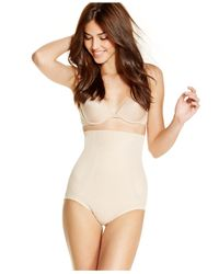 Miraclesuit | Natural Shapewear Extra Firm Control Full Hip High Waist Brief 2923 | Lyst