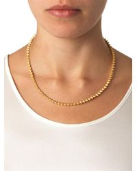 Eddie Borgo | Metallic Mini-Cone Gold-Plated Necklace | Lyst