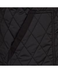 River Island Blue Navy Diamond Quilted Gilet for men