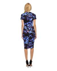 McQ | Black Long Bodycon Dress | Lyst