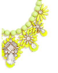 BaubleBar | Green Chartreuse Pineapple Bib | Lyst