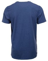 47 Brand Blue Men's Indianapolis Colts Forward High Point T-shirt for men