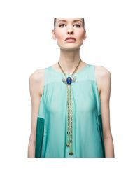Lulu Frost | Multicolor Eternal Life Tassel Necklace | Lyst