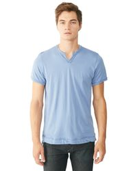 Alternative Apparel | Blue Perfect Moroccan Organic Pima T-shirt for Men | Lyst