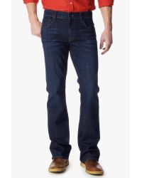 "7 For All Mankind - Blue Luxe Performance: Brett Modern Bootcut With ""a"" Pocket for Men - Lyst"