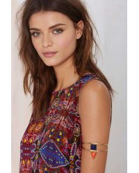 Nasty Gal Multicolor From St Xavier Keely Lapis Arm Cuff