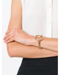 Chloé   Metallic 'carly' Bracelet   Lyst