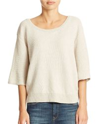 Free People | Natural Rising Sun Pullover | Lyst
