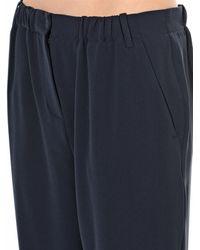 Max Mara Studio Blue Serra Trousers