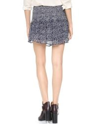 Ulla Johnson | Blue Colette Silk Miniskirt | Lyst