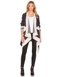 Line - White Montana Wrap Sweater - Lyst